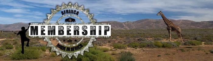 Afriiica Membership