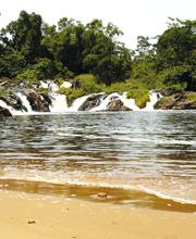 waterfall in Cameroon