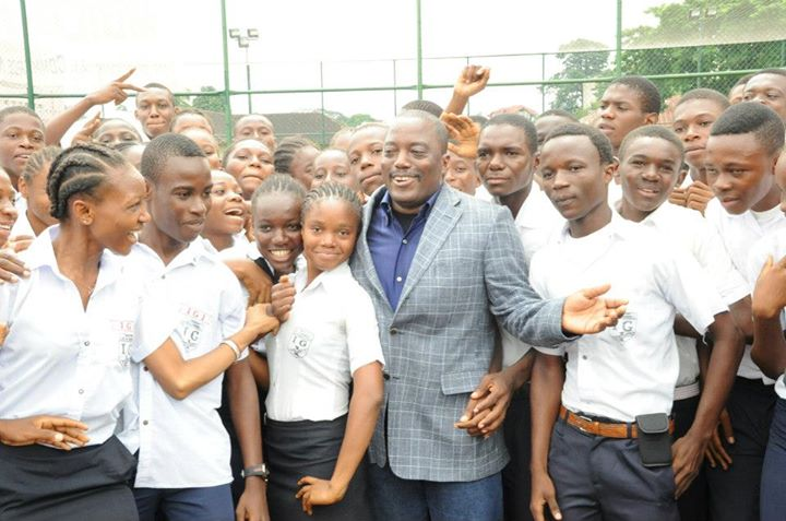 "President Joseph Kabila and the Congolese Youth ""spearhead an emergent Congo"""