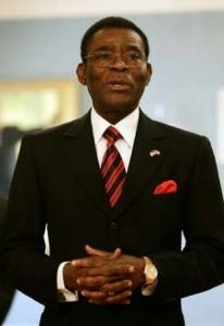 guinée equatorial president