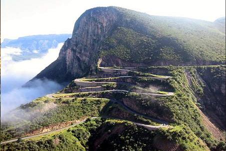 Mountain landscape of Angola
